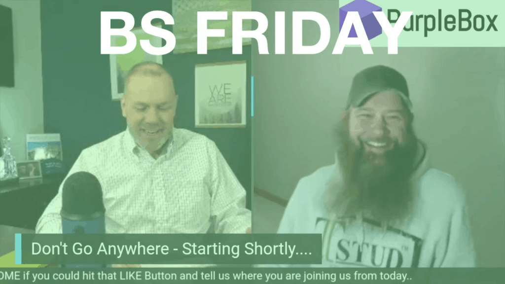BS Friday with Dave Cooper