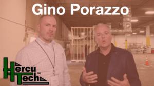 Gino Porazzo with Dave Cooper
